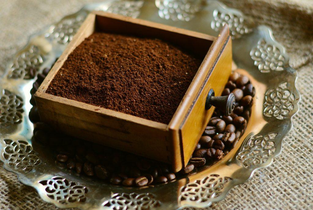 Káva - základ kávového peelingu